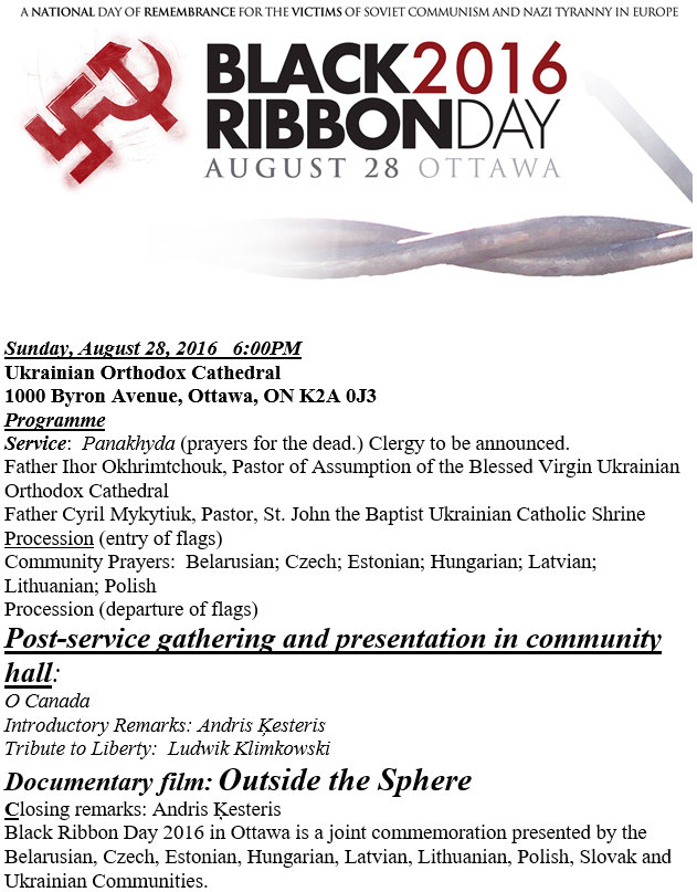 Black Ribbon Day 2016