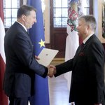 Latvian President presents credentials to Ambassador-designate of Latvia to Canada, Kārlis Eihenbaums